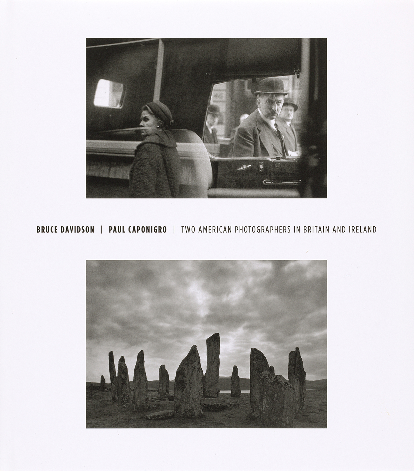 Cover, Bruce Davidson/Paul Caponigro: Two American Photographers in Britain and Ireland