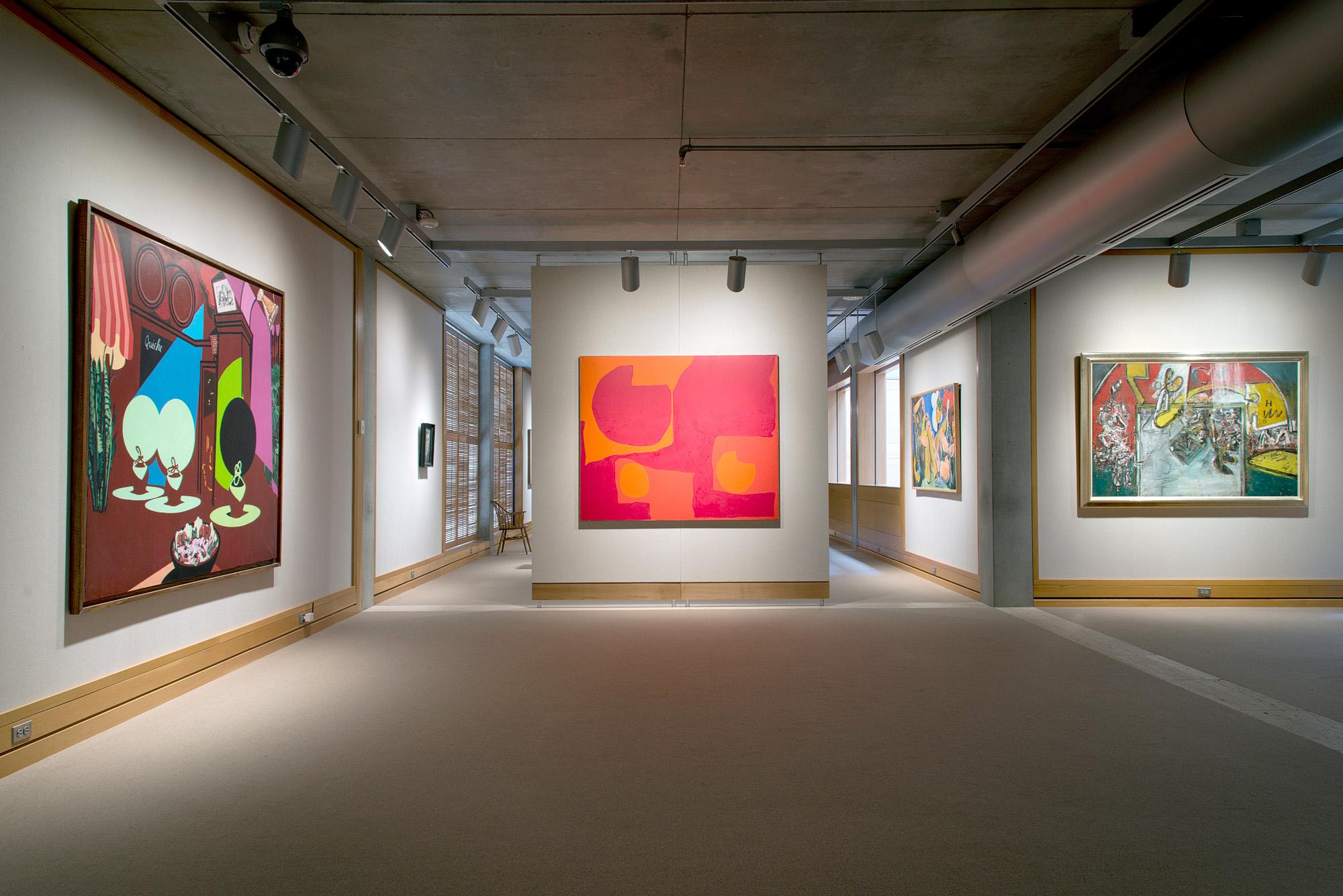Britain in the World installation, second-floor galleries, Yale Center for British Art, photo by Richard Caspole