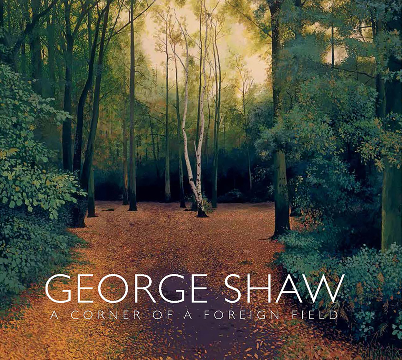 Cover, George Shaw: A Corner of a Foreign Field