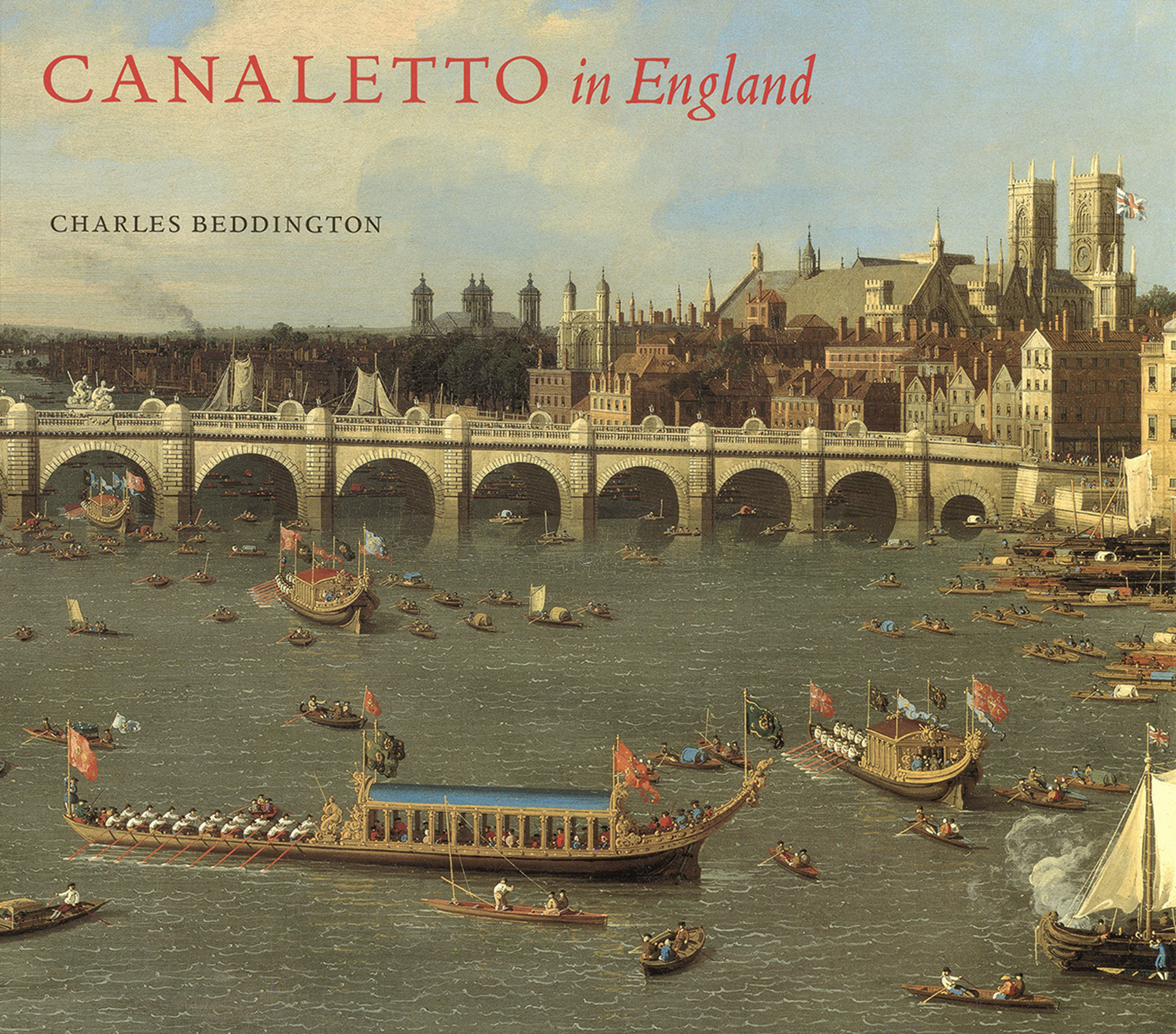 Cover, Canaletto in England: A Venetian Artist Abroad, 1746-1755