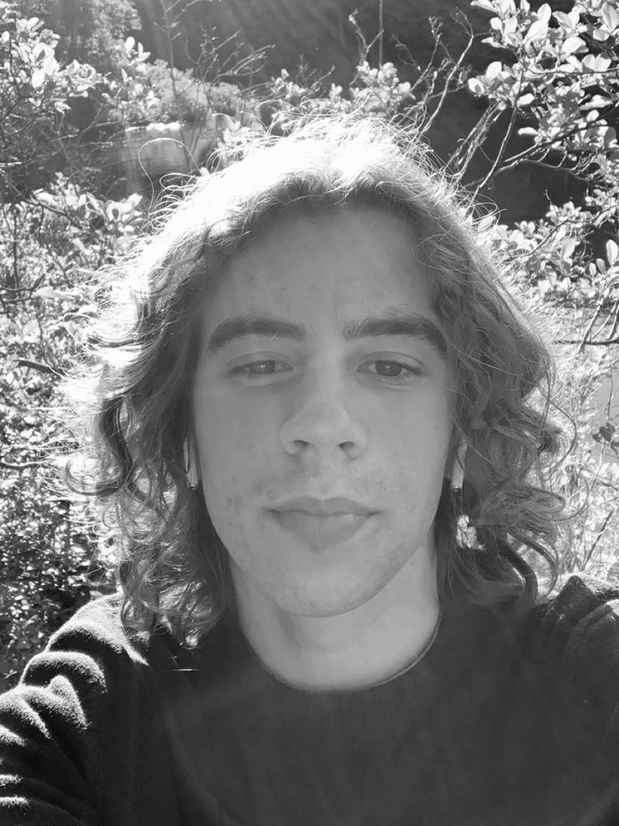 Mason Detrani, Self-portrait, 2021