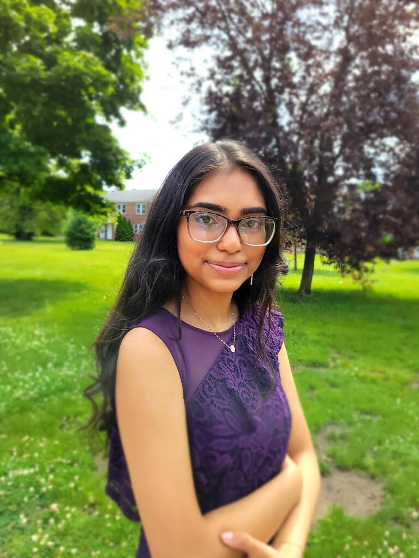 Shakshi Patel, Self-portrait, 2021