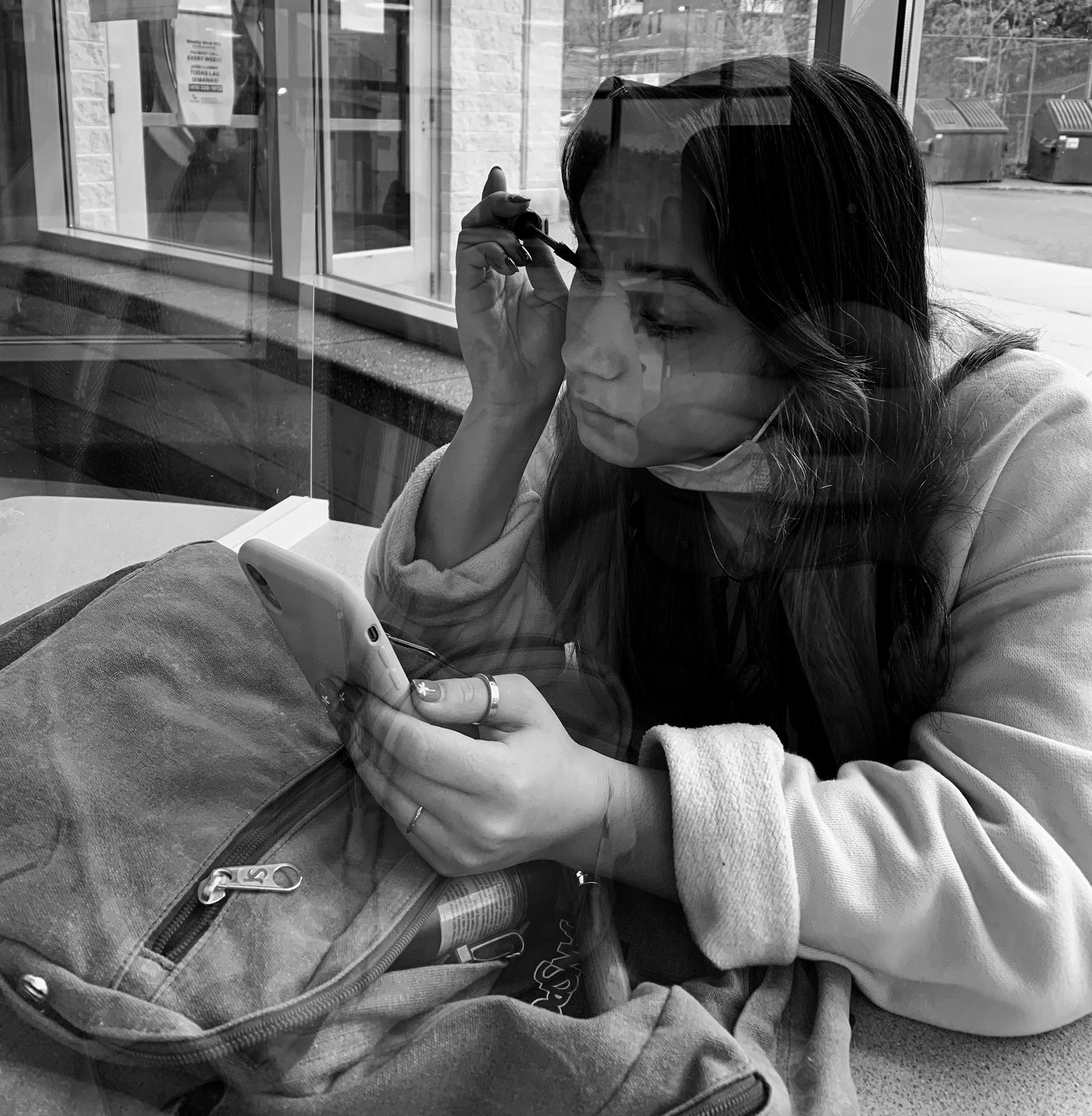 Jazlyn Rivera, Untitled (Make-Up), 2021