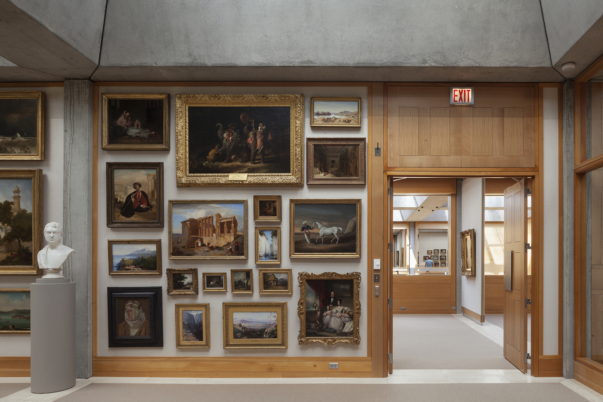 Long Gallery, Yale Center for British Art, photo by © Elizabeth Felicella / ESTO