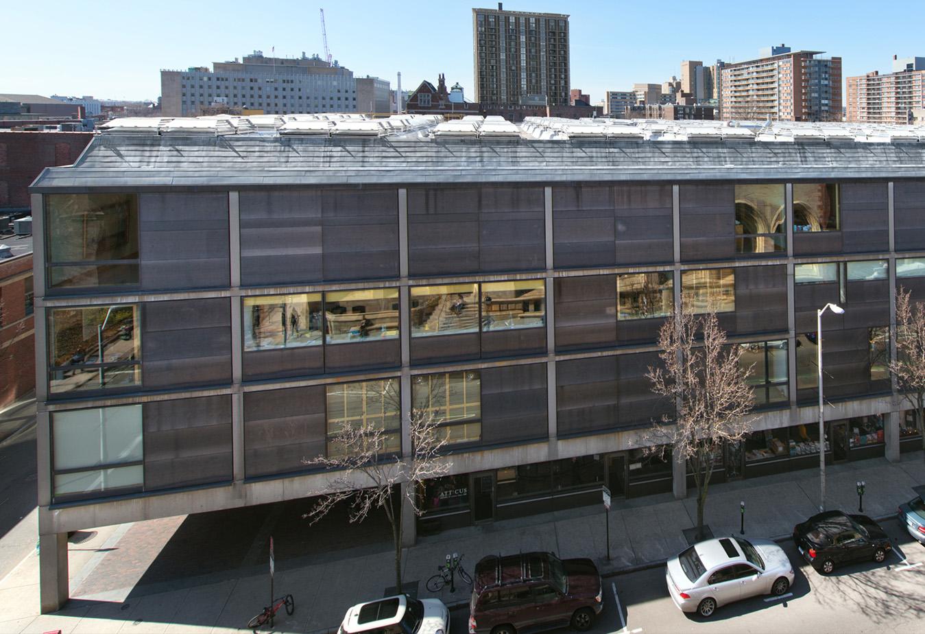 Yale Center for British Art, exterior, photo by Richard Caspole