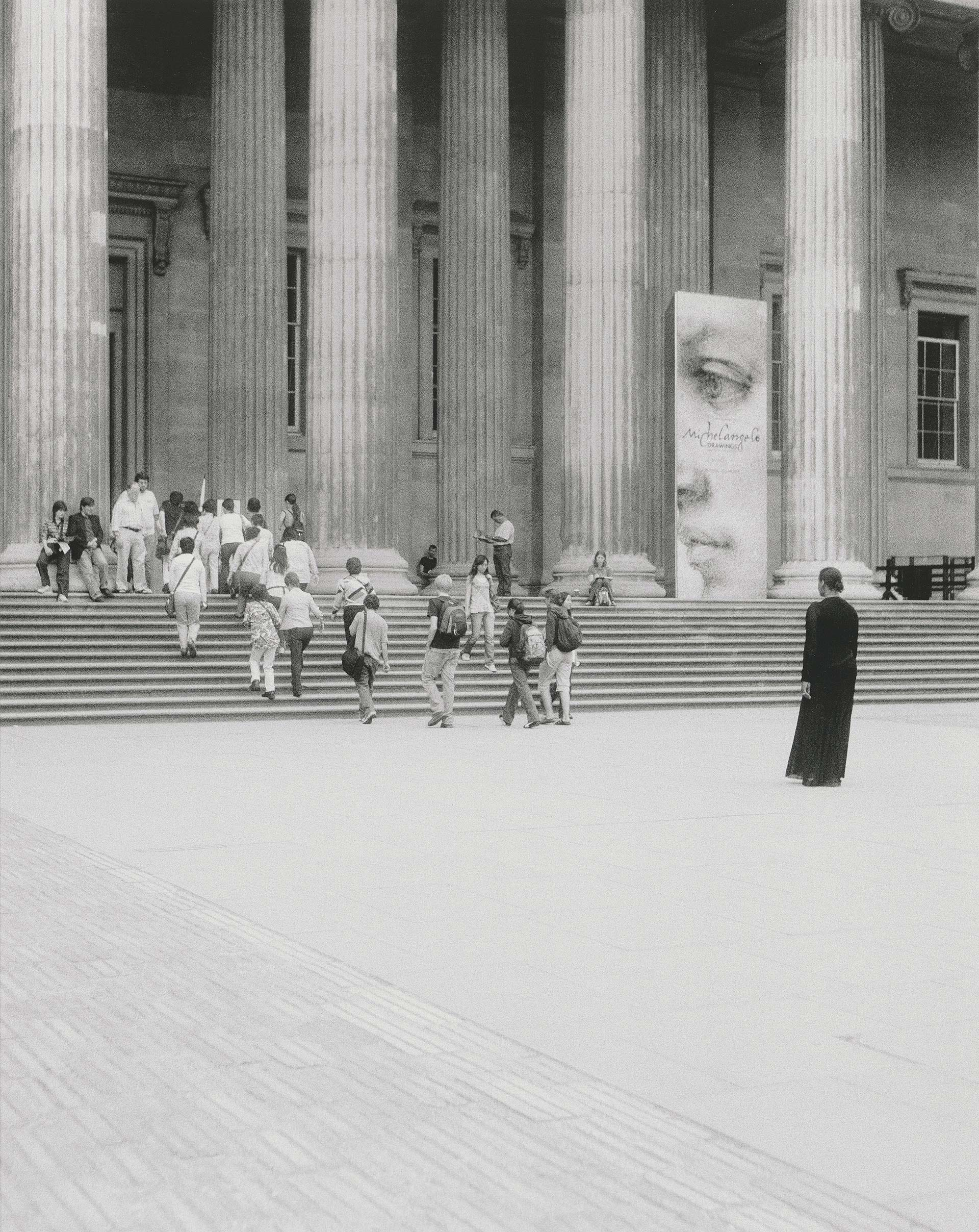 Carrie Mae Weems, When and Where I Enter the British Museum, 2007, digital print on paper, Yale Center for British Art, Friends of British Art Fund, © Carrie Mae Weems, courtesy of the artist and Jack Shainman Gallery, New York