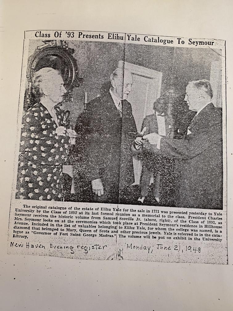 New Haven Evening Register, Monday, June 21, 1948