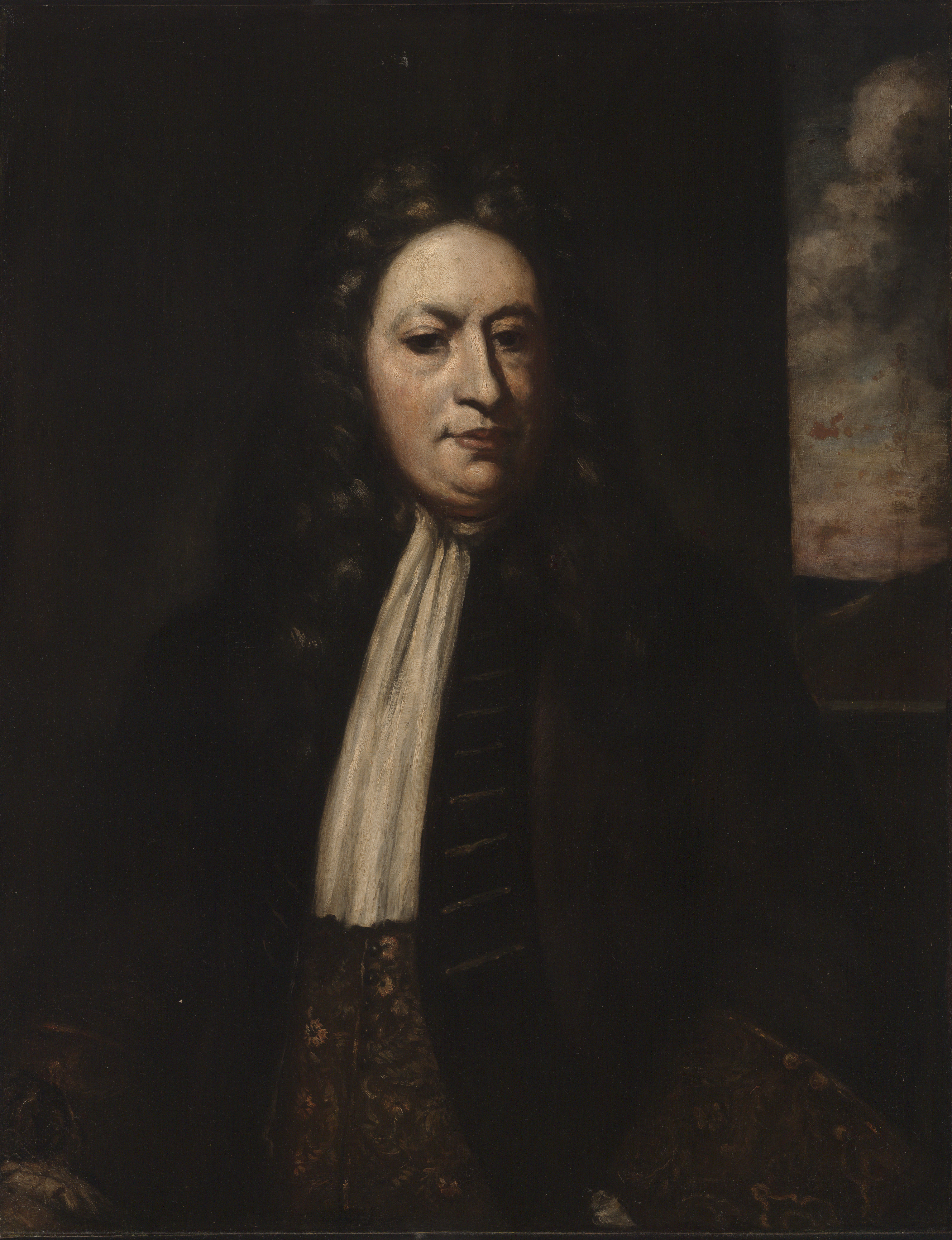 After Enoch Seeman the Younger, Elihu Yale (1648/49–1721), oil on canvas, Yale University