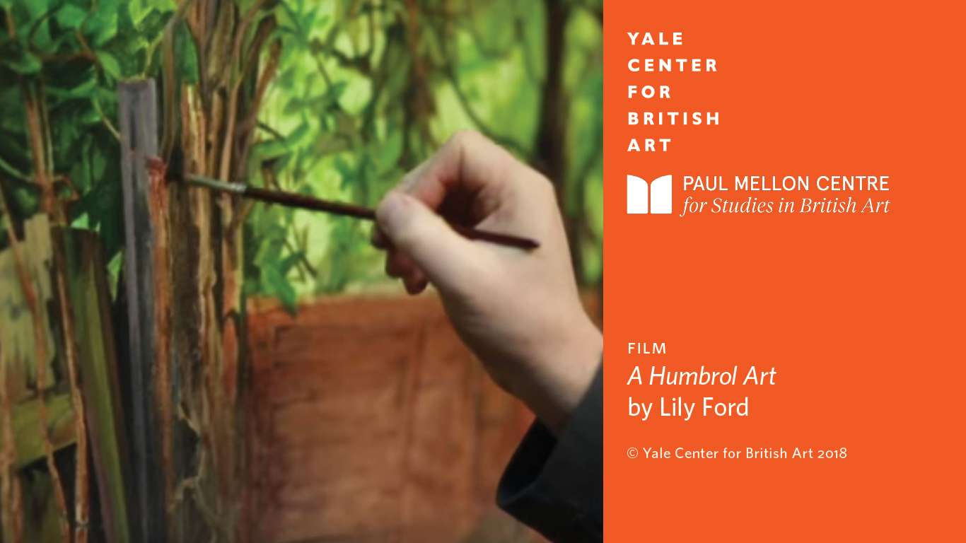 A Humbrol Art, by the British filmmaker Lily Ford