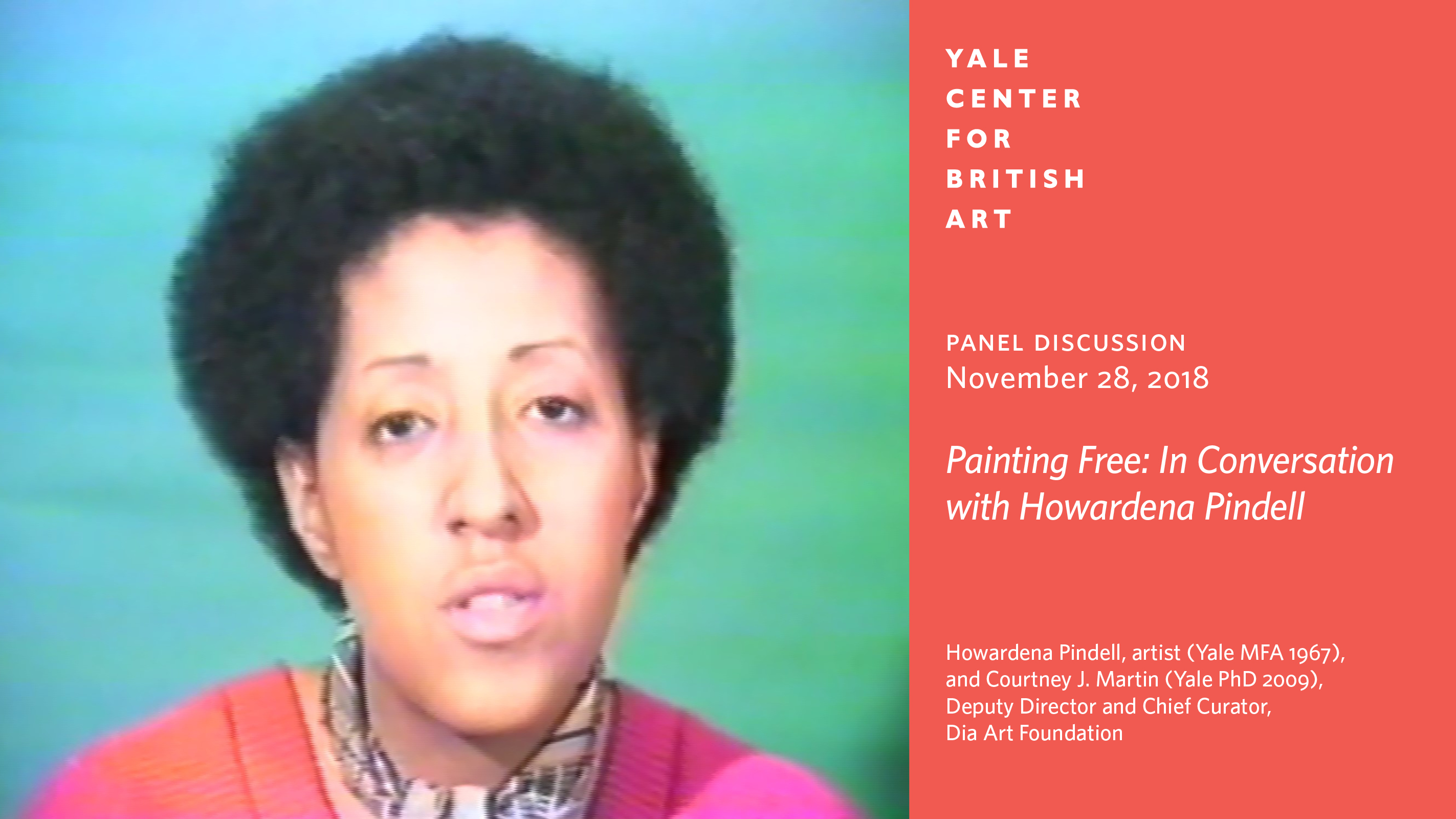 Howardena Pindell, Free, White and 21, 1980, color video with sound, Yale University Art Gallery, image courtesy of the artist and Garth Greenan Gallery