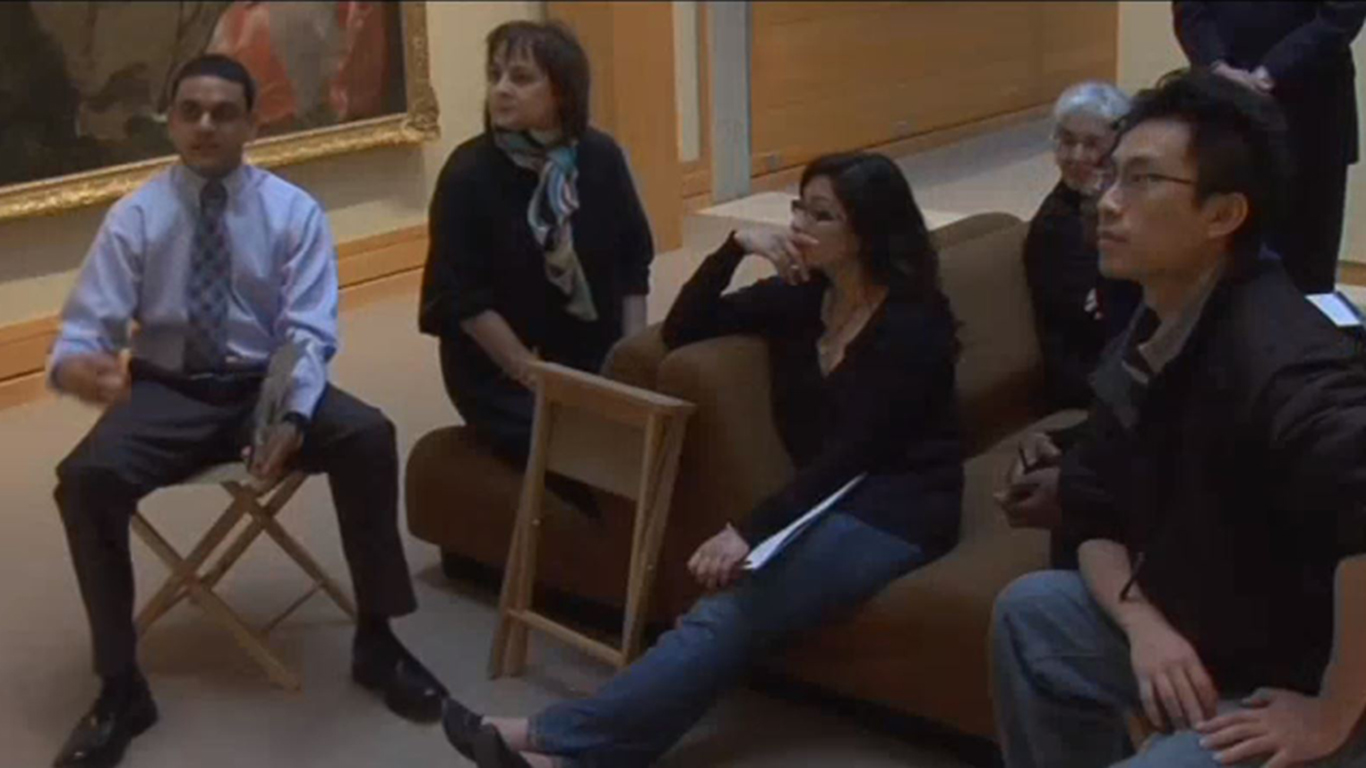 Linda Friedlaender speaks on using art to teach observation skills