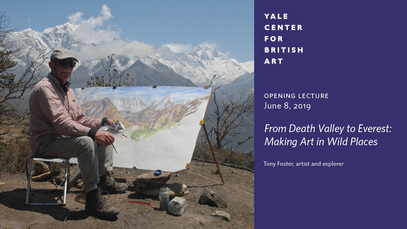 Opening Lecture | From Death Valley to Everest: Making Art in Wild Places