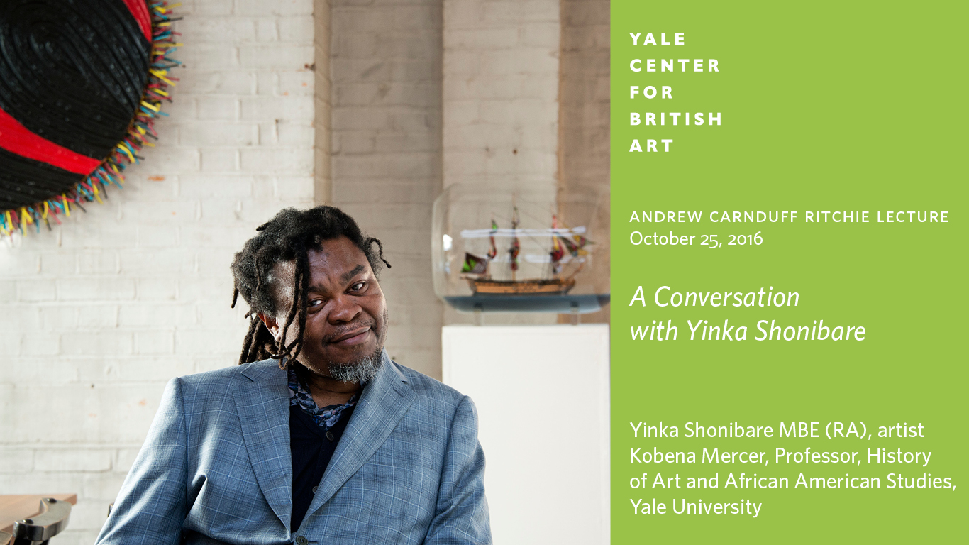 Yinka Shonibare CBE (RA), photo by Marcus Leith,© Royal Academy of Arts, London