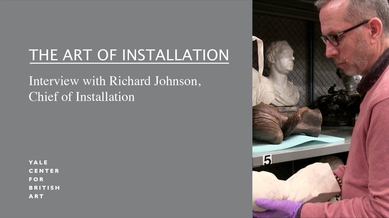 The Art of Installation at the Yale Center for British Art