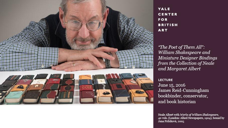 Neale Albert with Works of William Shakespeare, 40 vols. (London: Allied Newspapers, 1904), bound by Jana Pribíková, 2005