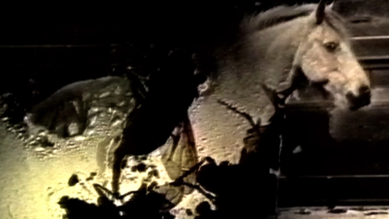 Film still from Lis Rhodes's Orifso (1999), courtesy of the artist and LUX, London, © Lis Rhodes