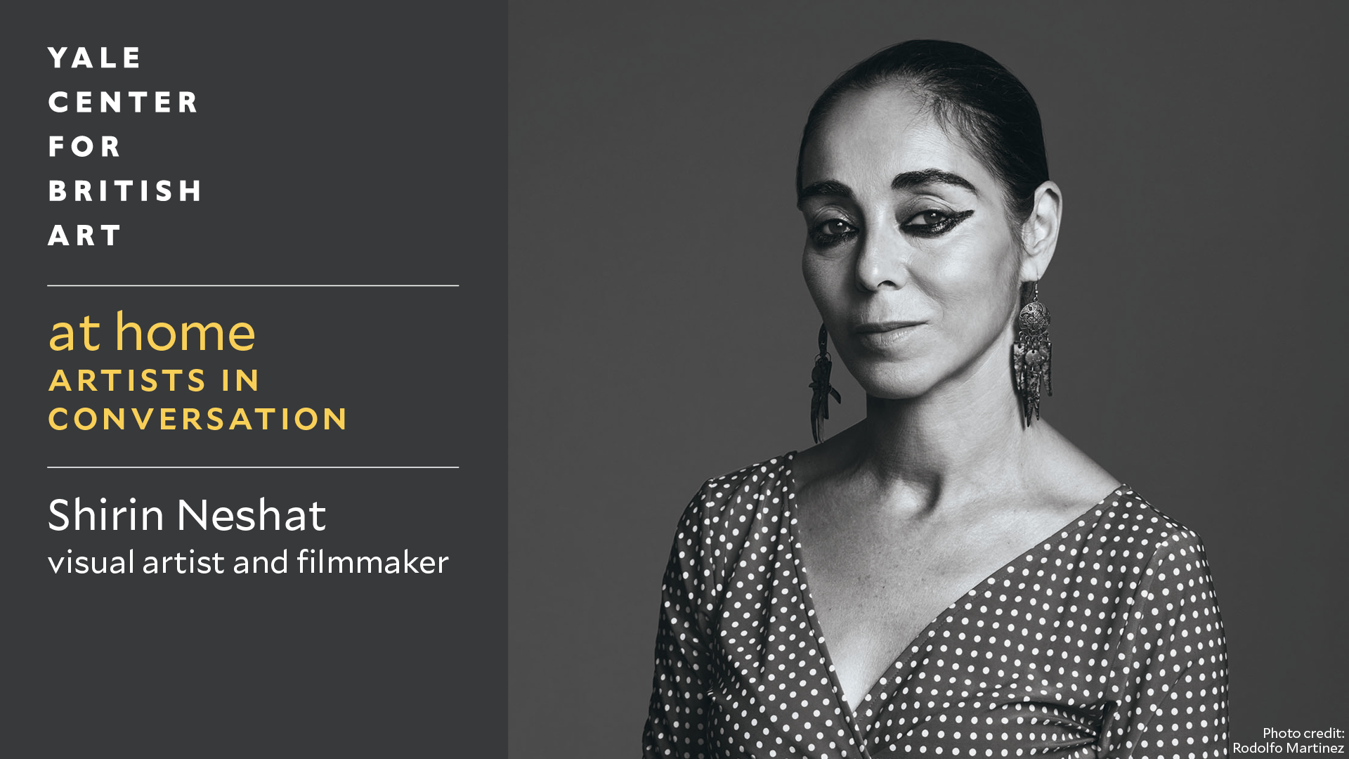 Shirin Neshat, photo by Rodolfo Martinez