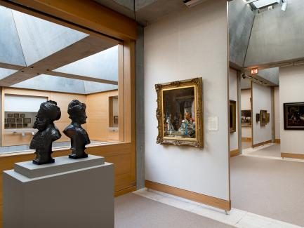 Britain in the World installation, fourth-floor galleries, Yale Center for British Art, photo by Richard Caspole