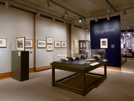 """Unto This Last: Two Hundred Years of John Ruskin"" installation, Yale Center for British Art, photo by Richard Caspole"