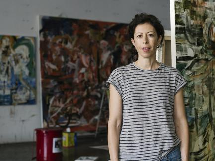 Cecily Brown, image by Mark Hartman