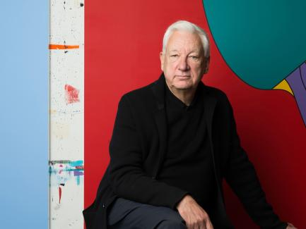 Photo of Michael Craig-Martin by Caroline True
