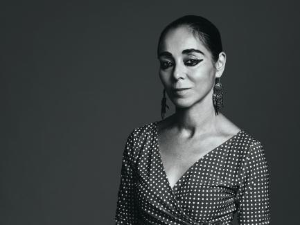 Shirin Neshat, photo by Rodolfo Martinez