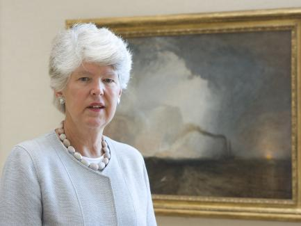 Constance (Cecie) Clement, Yale Center for British Art, photo by Beatrix Roeller