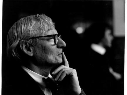 Louis I. Kahn, photo by Robert C. Lautman, Institutional Archives