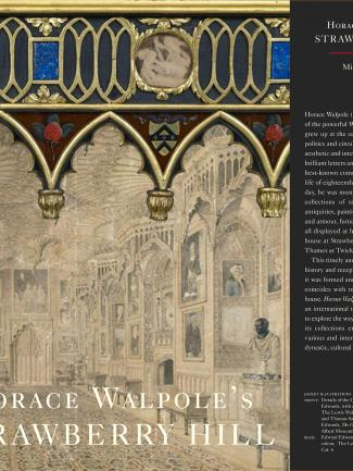 Cover, Horace Walpole's Strawberry Hill