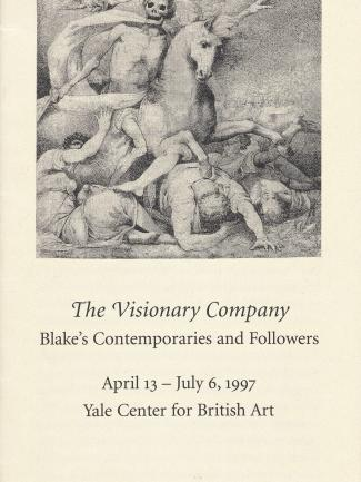 Cover, The Visionary Company: Blake's Contemporaries and Followers