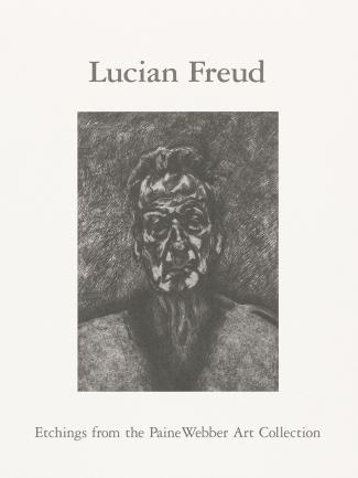 Cover, Lucian Freud: Etchings from the PaineWebber Art Collection