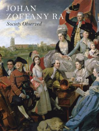Cover, Johan Zoffany RA: Society Observed